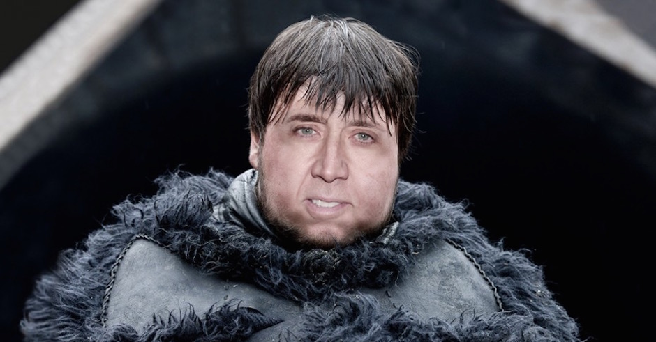 Nic Cage's Head On Game Of Thrones Characters Is The Best
