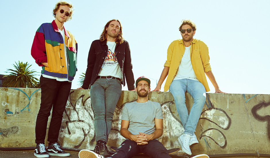 Premiere: Caravãna Sun show life in the studio in video for new single, Beauty & The Pain