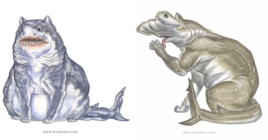 Brynn Metheney's Shark Cats are horrifyingly adorable