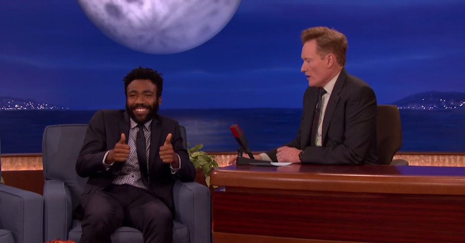 "Childish Gambino on moving to rap: ""It was a bad decision but it worked out great!"""