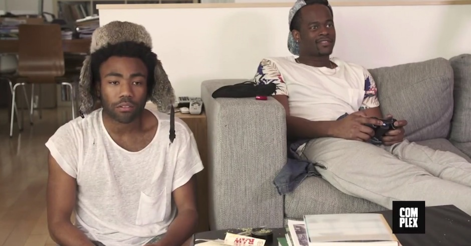 Watch: A really endearing video of Childish Gambino learning how to roll a joint