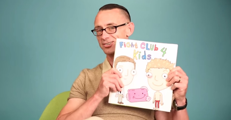 Chuck Pahlaniuk Reads Fight Club For Kids