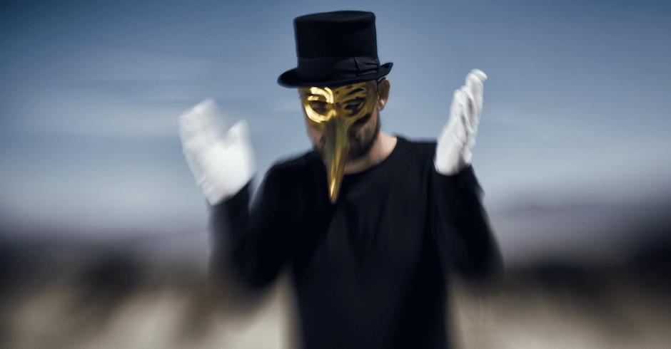 Listen to a mammoth remix from Claptone ahead of his Australian return