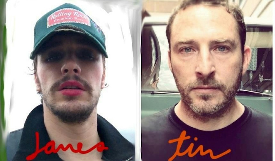 Listen to a few tracks from James Franco's band DADDY's debut album