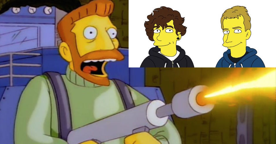Dan Cribb links up with Luca Brasi's Tyler Richardson on his next Simpsons tribute - Scorpio