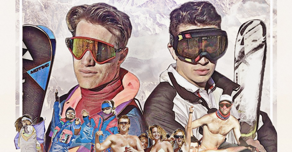 Tom Tilley and Hugo Flight Facilities are hosting some après ski parties & it looks glorious