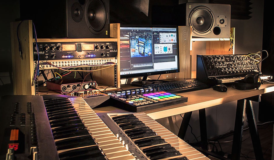 "Meet the brains behind Foxhole Studios: ""Like a 24-hour gym, but for making music."""