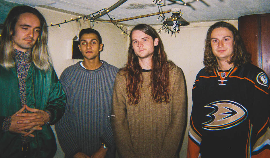 Premiere: Perth rockers Furball rock out in a loungeroom in the video for On The Mend