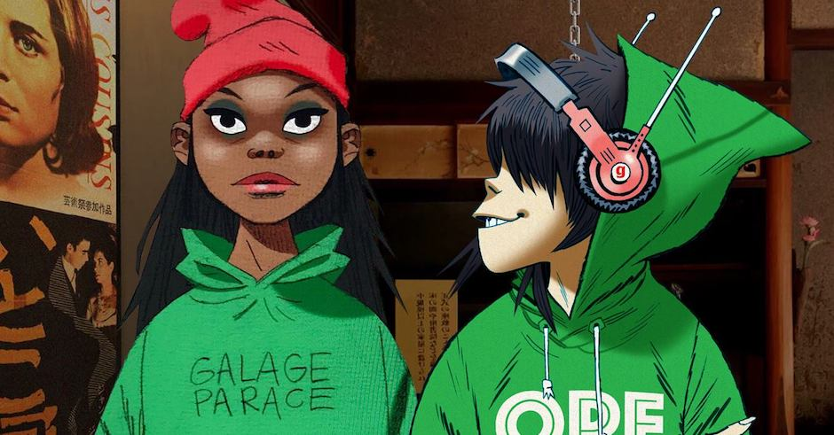 Gorillaz and Little Simz link up on ravey new banger, Garage Palace