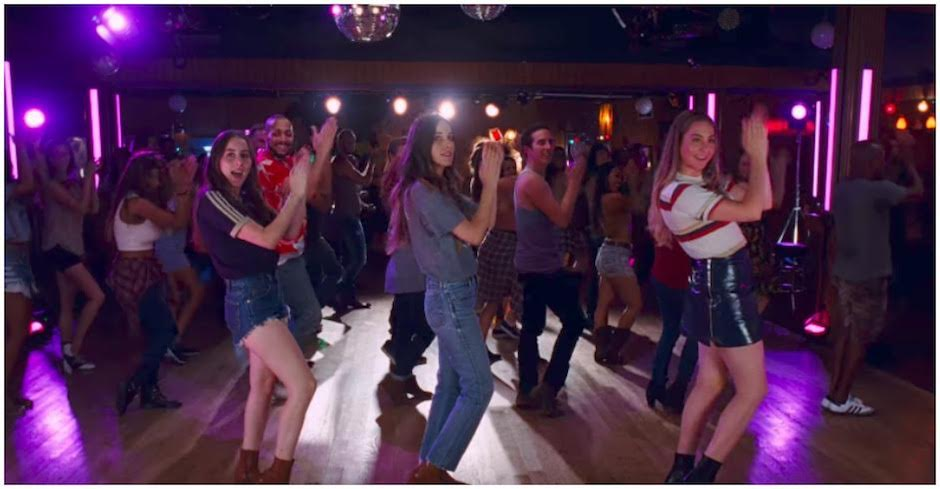 HAIM lead a line-dance in their new clip for 'Little of Your Love'