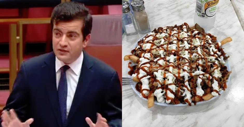 Labor Senator gives 11/10 Halal Snack Pack review in Parliament