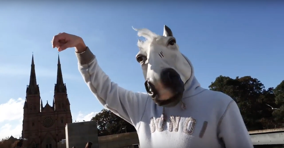 Premiere: Watch Harry Heart horse around in the vid for Twenty Five