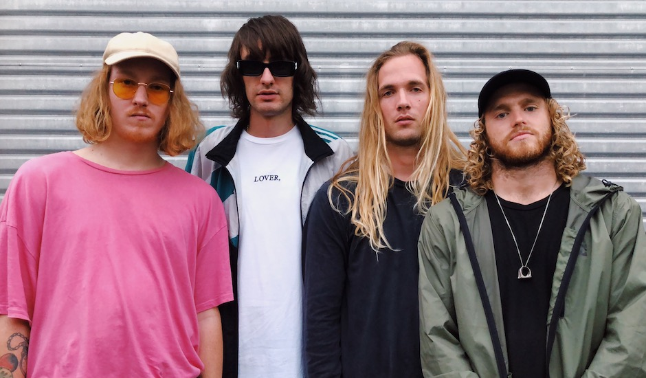 Premiere: Check out the tubular new video for Hot Wax's debut single, Surfing's Not Cool