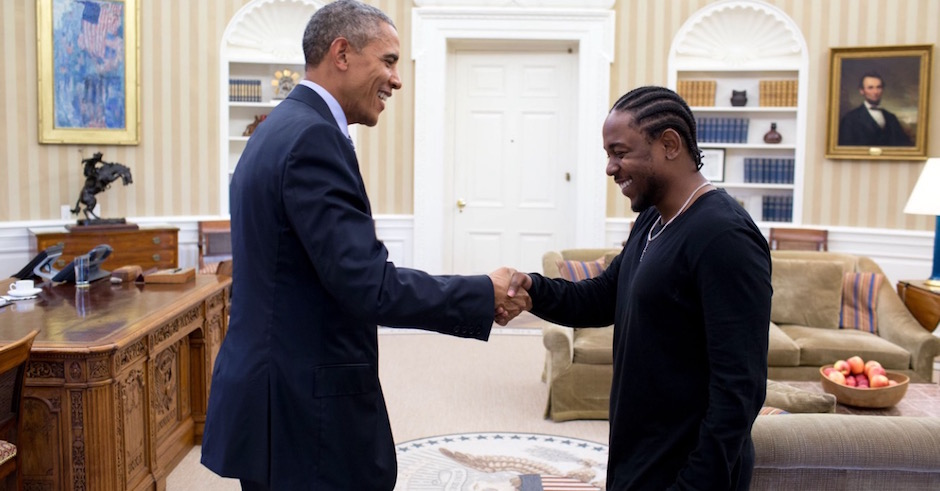 Kendrick Lamar and Janelle Monáe perform at The White House