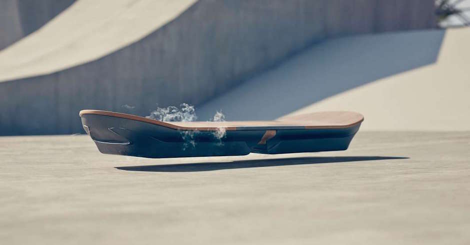 The Lexus Hoverboard is here and it works