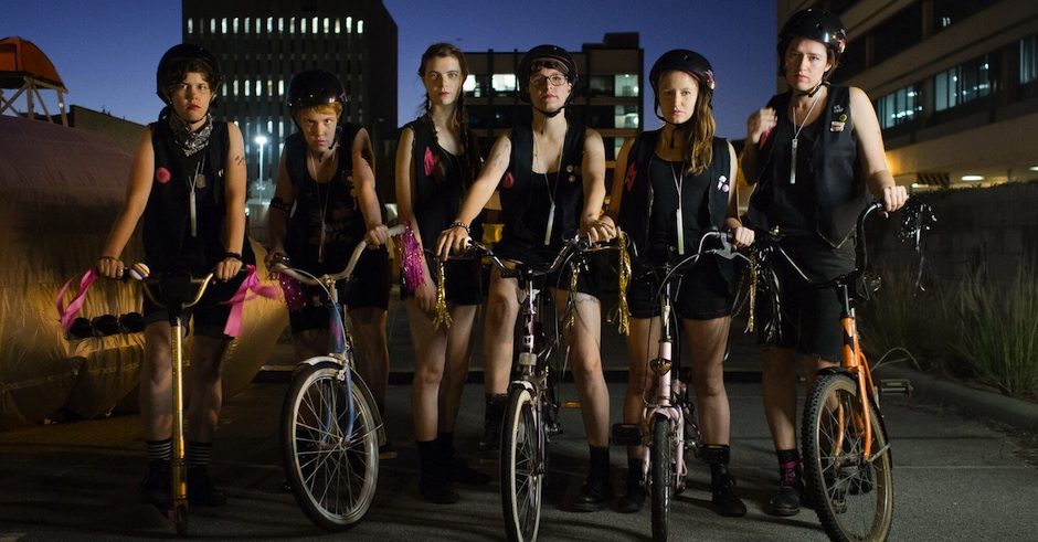 Meet Perth's all-girl bike gang, The Lightning Furies