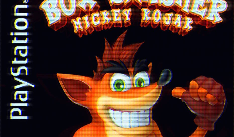 Mickey Kojak remixed the Crash Bandicoot theme and we're not worthy