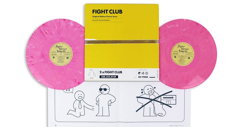 This new Fight Club vinyl asks that you 'destroy something beautiful' to open it
