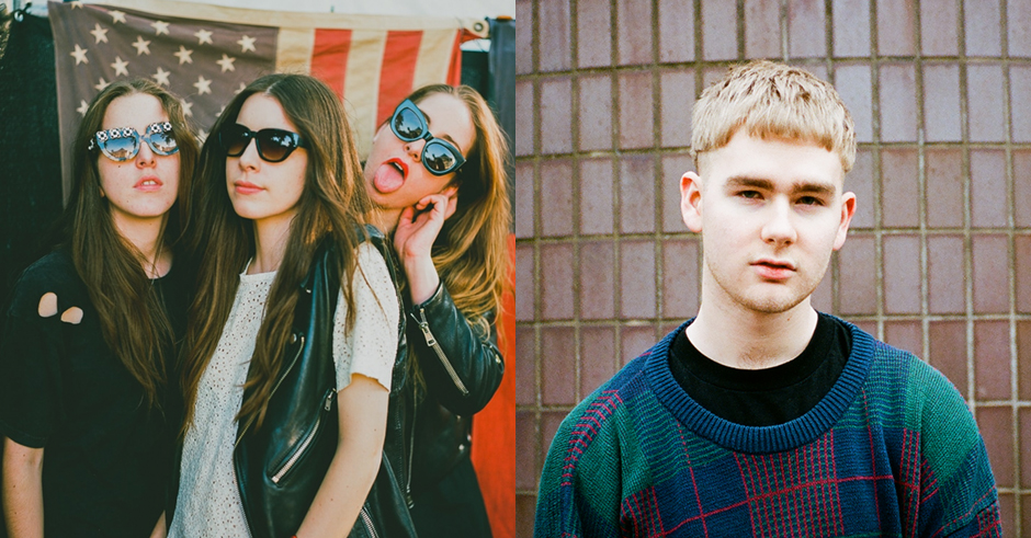 Mura Masa remixes HAIM's Walking Away into a blissfully upbeat club anthem