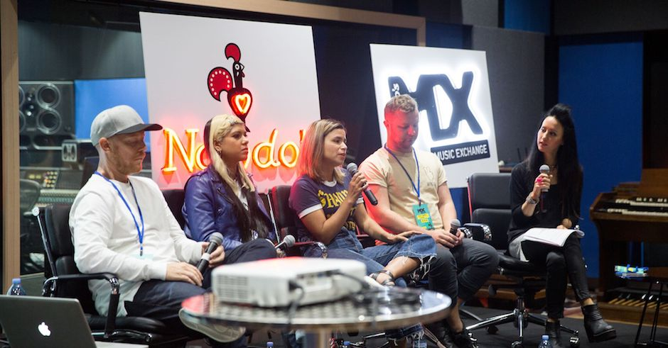 Urthboy, Ecca Vandal, Alice Ivy, more share their best songwriting tips following Nando's Music Exchange