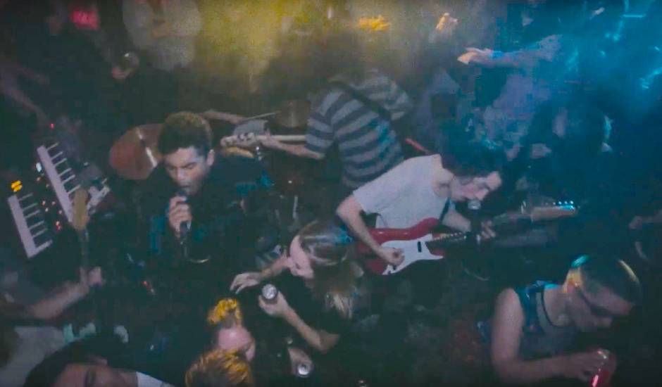 Premiere: Northeast Party House do a warehouse party right in the video for Heartbreaker
