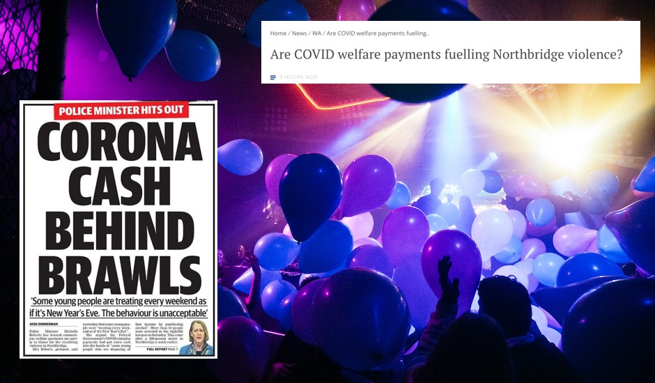 First coronavirus, now media bashings: Perth nightlife culture can't catch a break