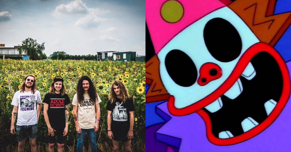 People are being super mean to Melbourne punk band Clowns on social media