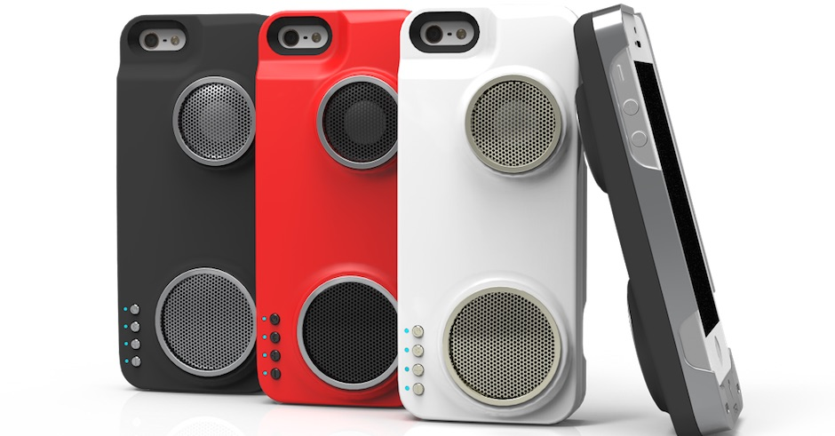 This iPhone case's built-in speakers look epic