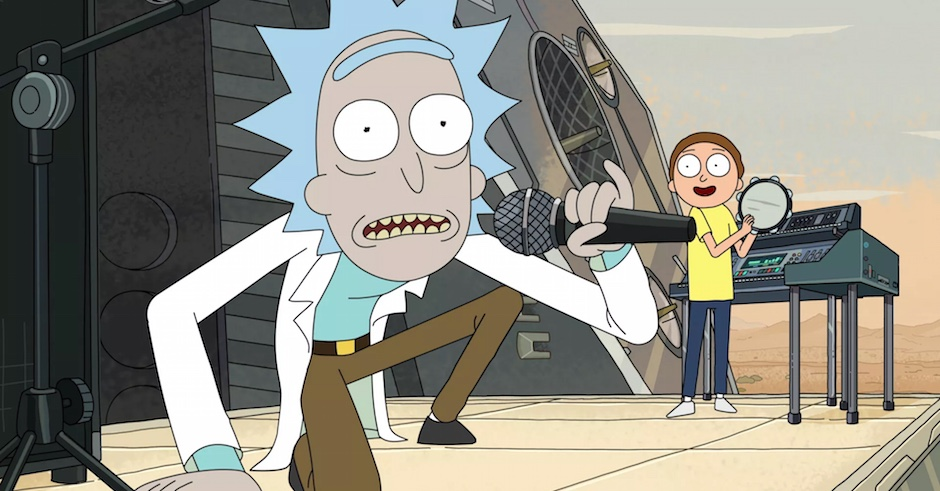 Here's a mash-up of Rick & Morty and Swimming Pools by Kendrick because awesome