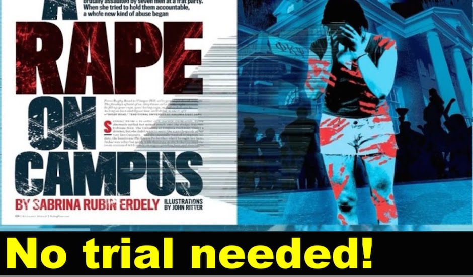 Rolling Stone's Rape On Campus Article & Journalism