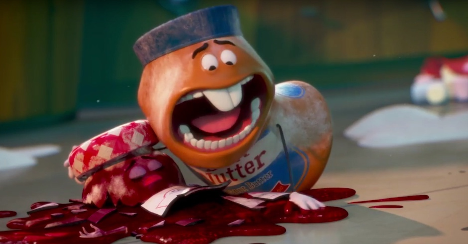Watch a new trailer for Seth Rogen's messed up animated movie, Sausage Party