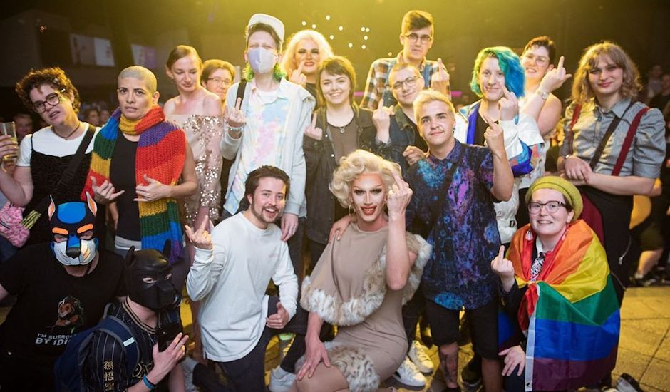 How a drag queen, Lily Allen and trans youth came together to say f**k you, Basil Zempilas