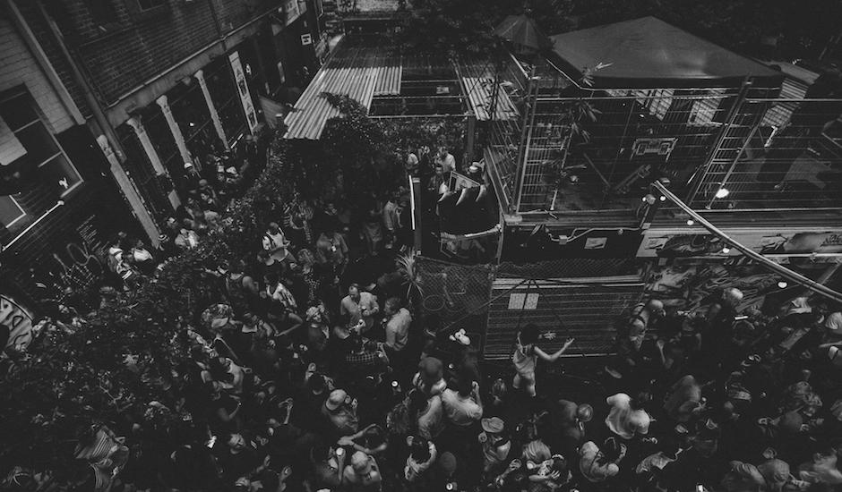 So you wanna throw a sick Laneway party? Here's some survival tips from Section 8