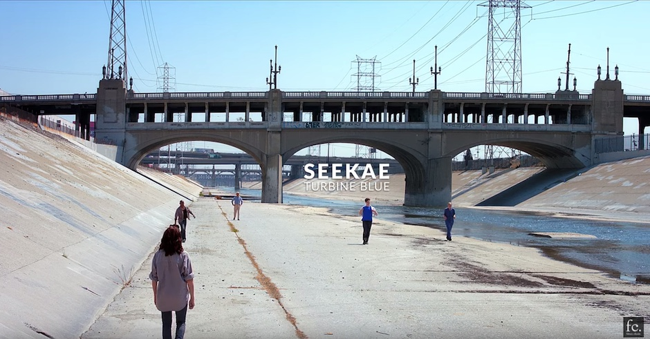 Seekae's video clip for Turbine Blue is one of the best this year