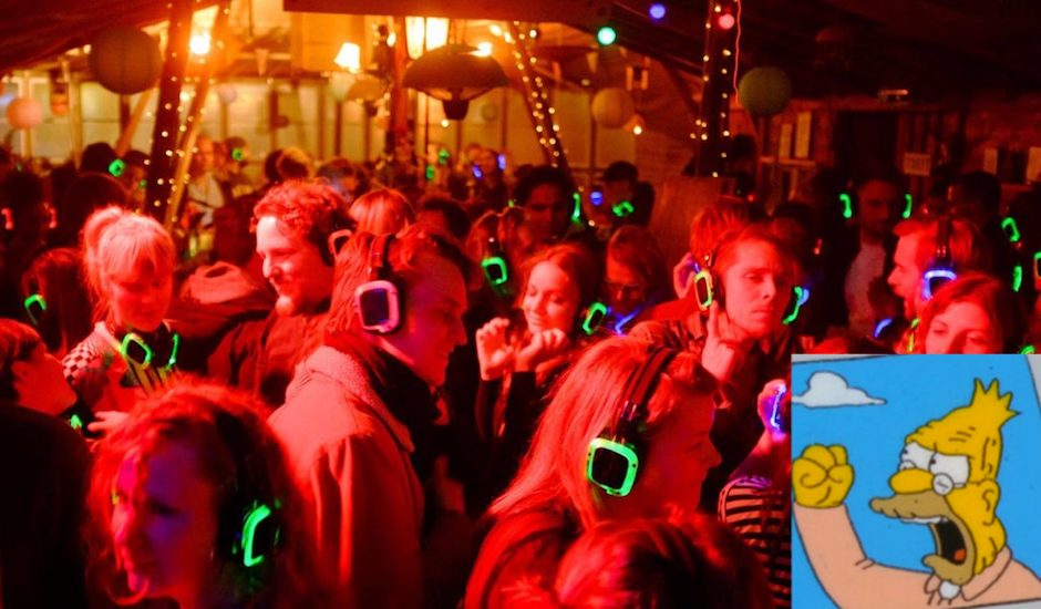 Old Man Yells At Crowd: Are Silent Discos The Worst, Or Just Complete Garbage?