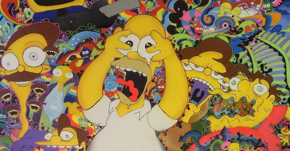 Dude watches Simpsons for 48 hours straight on acid, has epiphanies