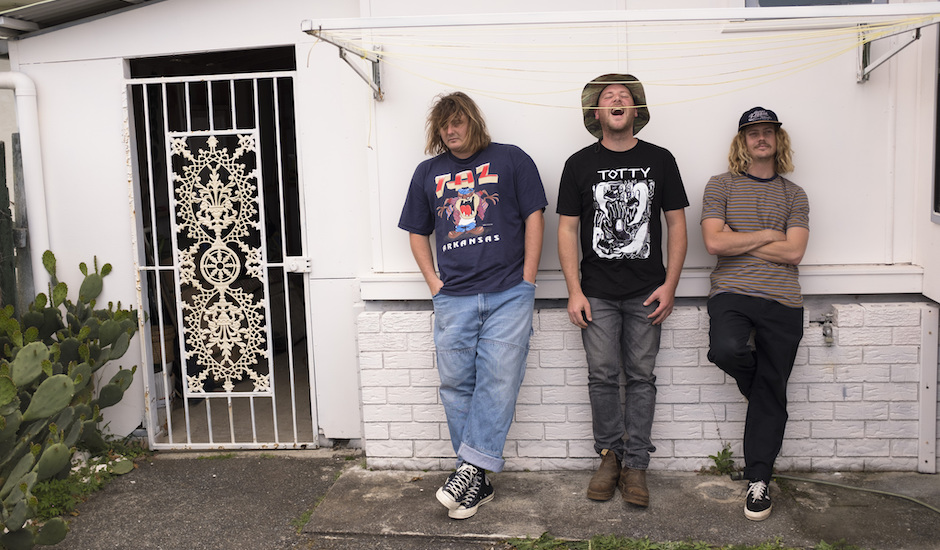Listen to Skegss' first song in a long while, Save It For The Weekend