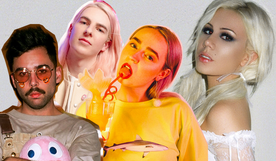 Meet the Australians behind Slayyyter, pop music's new big craze