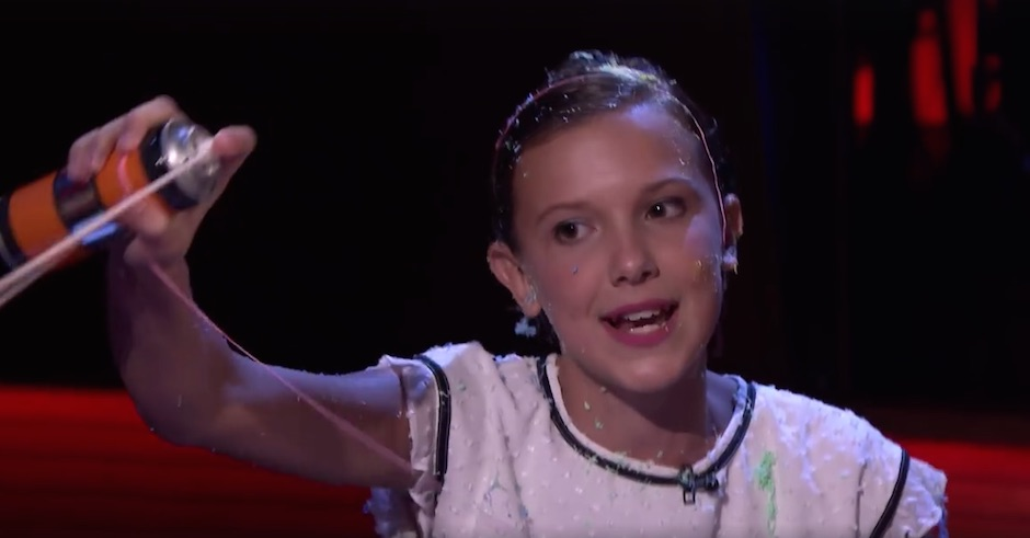 Watch Stranger Things' Millie Bobby Brown slay a verse from Nicki Minaj's Monster