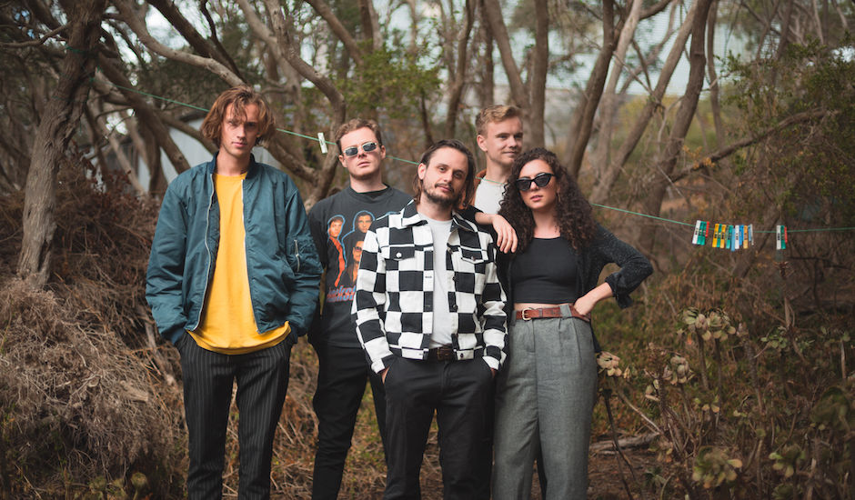Premiere: Melbourne's Telescreen share a vibrant single/video, In Mind