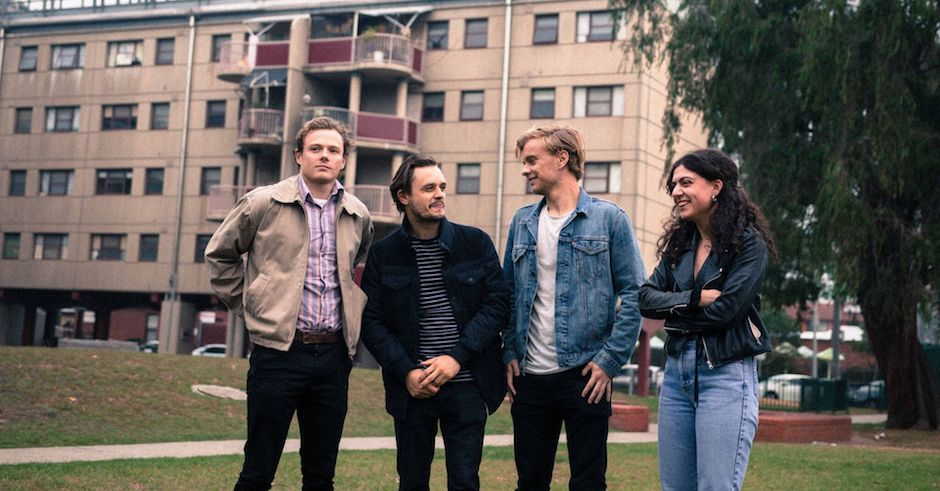 Meet Melbourne newcomers Telescreen and their new single, Crowded
