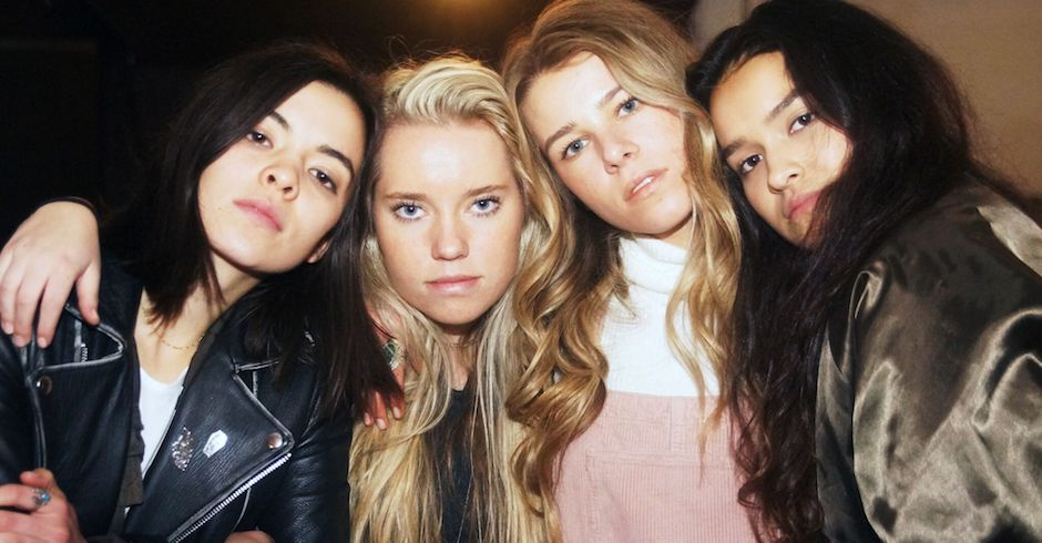 Interview: The Aces talk Lorde, Australia, and their new EP I Don't Like Being Honest