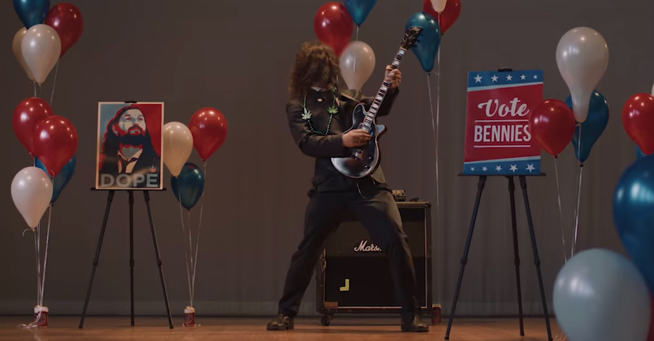 The Bennies form their own political party in the clip for Dreamkillers