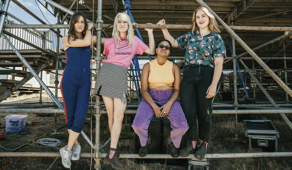 The Buoys, Sydney punk up-and-comers, are amongst Australia's next big things