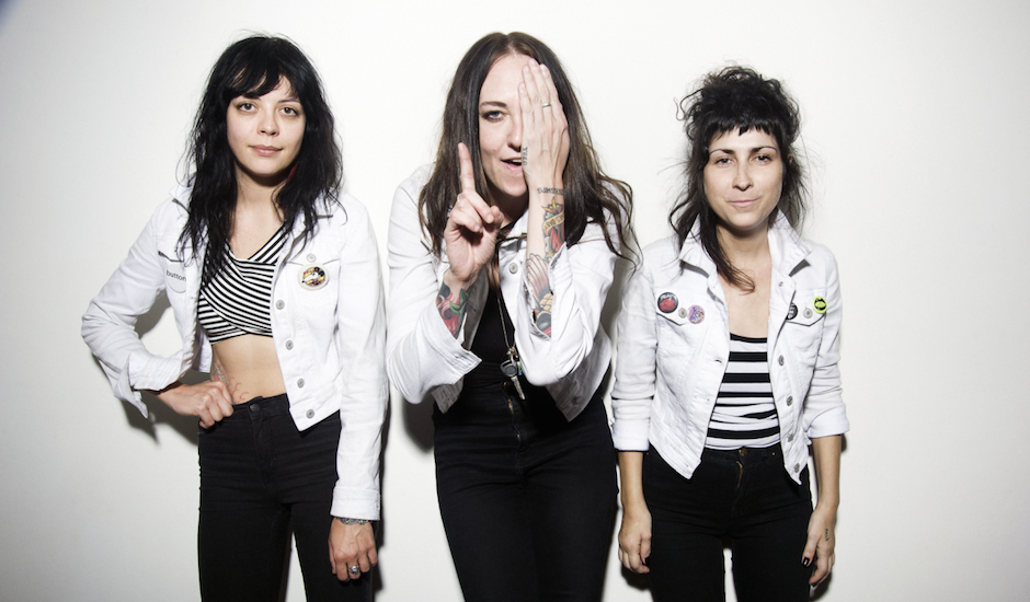 Exclusive: Go behind the scenes of The Coathangers new album, Nosebleed Weekend