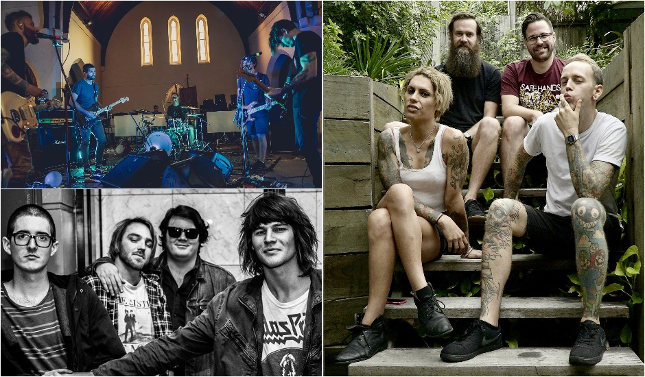 Say G'day To 3 Of WAAX's fave Brissy bands, We Set Sail, Hound. and The Cutaways