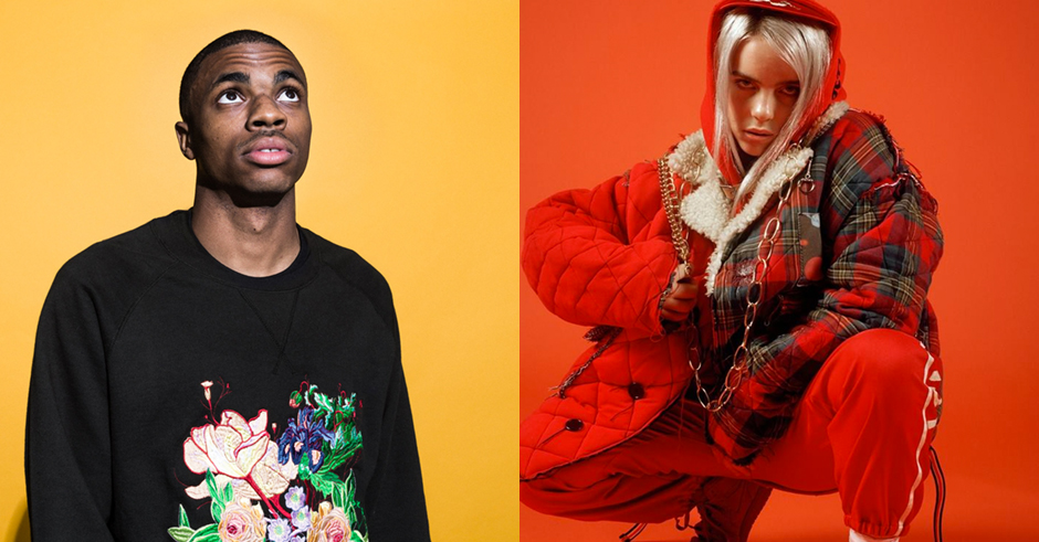 Gaze into the future with Billie Eilish and Vince Staples' &burn