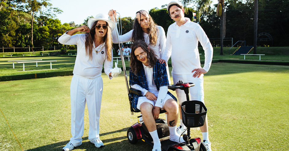 Watch: Violent Soho + shenanigans at an old folks' home in the clip for Like Soda