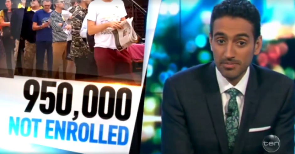Waleed Aly explains why we were all bugging you to enrol to vote last night