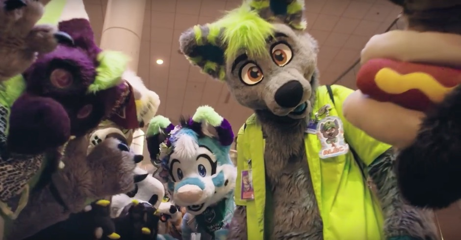 Watch Furries party it up in Motez's video for The Vibe feat. Scruffizer